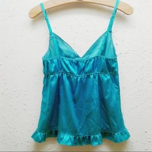 Tally Weijl Intimates & Sleepwear - 3/$15 Lingerie Top turquoise black Lace L